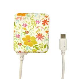 ラスタバナナ RastaBanana [micro USB] ケーブル一体型AC充電器 2.1A 1.6m R16ACM2A01SLH サンライトハニー