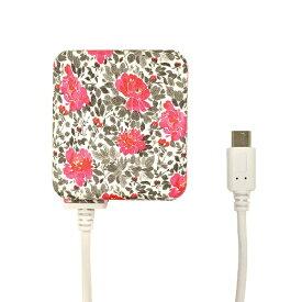 ラスタバナナ RastaBanana [micro USB] ケーブル一体型AC充電器 2.1A 1.6m R16ACM2A01CPD カームピオニアドリーム