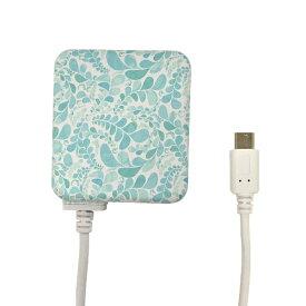 ラスタバナナ RastaBanana [micro USB] ケーブル一体型AC充電器 2.1A 1.6m R16ACM2A01SLR サファイア・リエール