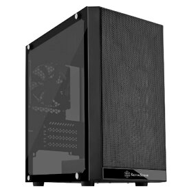 SilverStone シルバーストーン PCケース PS15 SST-PS15B-G ブラック[SSTPS15BG]