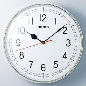 セイコー SEIKO 掛け時計 【スタンダード】 白パール KX253W [電波自動受信機能有]