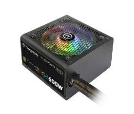 THERMALTAKE サーマルテイク PC電源 TOUGHPOWER GX1 RGB GOLD 600W PS-TPD-0600NHFAGJ-1 [600W /ATX/EPS /Gold]