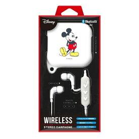 PGA bluetooth イヤホン カナル型 Premium Style ミッキーマウスホワイト PG-BTE1SD02MKY [リモコン・マイク対応 /ワイヤレス(左右コード) /Bluetooth][PGBTE1SD02MKY]