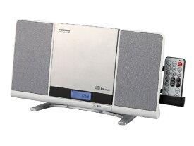 コイズミ KOIZUMI CDラジオ(ラジオ+SD+USBメモリー+CD) SDB4342W ホワイト [Bluetooth対応 /ワイドFM対応][SDB4342W]