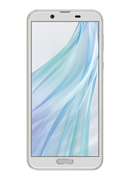 シャープ SHARP 【防水防塵・おサイフケータイ】AQUOS sense2 ホワイトシルバー「SH-M08」Snapdragon 450 5.5型 IGZO液晶 メモリ/ストレージ:3GB/32GB nanoSIMx1 ドコモ/au対応 SIMフリースマートフォン[スマホ 本体 新品 SHM08S]