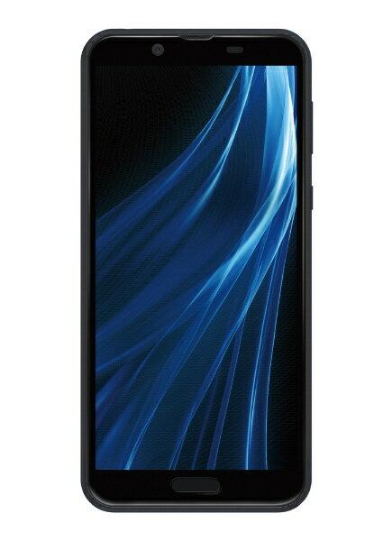 シャープ SHARP 【防水防塵・おサイフケータイ】AQUOS sense2 ニュアンスブラック「SH-M08」Snapdragon 450 5.5型 IGZO液晶 メモリ/ストレージ:3GB/32GB nanoSIMx1 ドコモ/au対応 SIMフリースマートフォン[SHM08B]