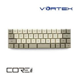 VORTEXGEAR ボルテックス VTG47SVRBEG キーボード 銀軸 COREシリーズ [USB /有線][VTG47SVRBEG]