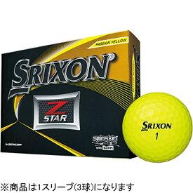 ダンロップ スリクソン DUNLOP SRIXON ゴルフボール スリクソン Z-STAR プレミアムパッションイエロー SNZS6YEL3 [3球(1スリーブ) /スピン系]【オウンネーム非対応】