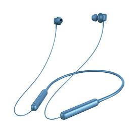 PGA ブルートゥースイヤホン カナル型 ブルー PG-BTE4S03 [リモコン・マイク対応 /ワイヤレス(ネックバンド) /Bluetooth][PGBTE4S03]