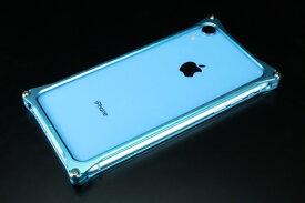 GILD design ギルドデザイン ソリッドバンパー for iPhoneXR ライトブルー GI-424LB
