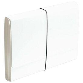 エトランジェ etranger [ジャバラファイル] エキスパンディングファイル SOLID (A4) SLD-97-01 ホワイト