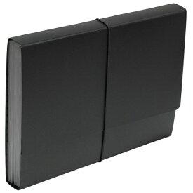 エトランジェ etranger [ジャバラファイル] エキスパンディングファイル SOLID (A4) SLD-97-02 ブラック