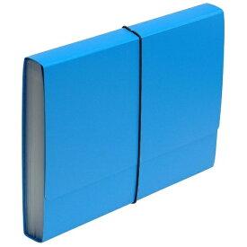 エトランジェ etranger [ジャバラファイル] エキスパンディングファイル SOLID (A4) SLD-97-41 ブルー