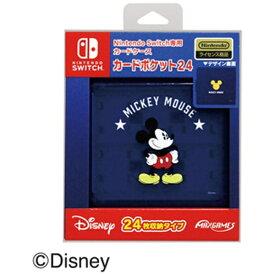 マックスゲームズ Nintendo Switch専用カードポケット24 ミッキーマウス HACF-02MK【Switch】