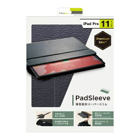 トリニティ Trinity iPad Pro 11インチ [PadSleeve] スリーブケース TR-IPD18S-PS-NBK ブラック