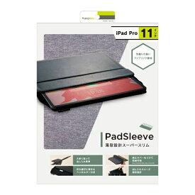 トリニティ Trinity iPad Pro 11インチ [PadSleeve] スリーブケース TR-IPD18S-PS-MGY グレー