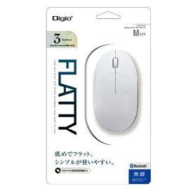 ナカバヤシ Nakabayashi マウス Digio2 ホワイト MUS-BKT154W [BlueLED /無線(ワイヤレス) /3ボタン /Bluetooth]【rb_mouse_cpn】