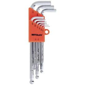 ミトロイ MITOLOY HBL900B L型ホローレンチ ボールP ロング(インチ) 9本セット