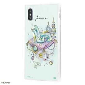 イングレム Ingrem iPhone XS / X /『ディズニーキャラクター OTONA』/耐衝撃ガラスケース KAKU SILK/『ジャスミン/OTONA Princess』 IQ-DP20K2C/JA001