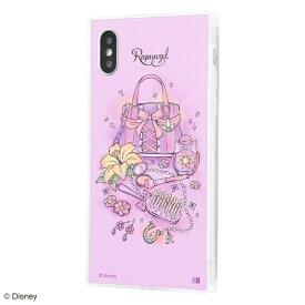 イングレム Ingrem iPhone XS / X /『ディズニーキャラクター OTONA』/耐衝撃ガラスケース KAKU SILK/『ラプンツェル/OTONA Princess』 IQ-DP20K2C/RZ001