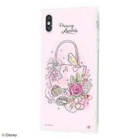 イングレム Ingrem iPhone XS Max /『ディズニーキャラクター OTONA』/耐衝撃ガラスケース KAKU SILK/『オーロラ/OTONA Princess』 IQ-DP19K2C/AU001