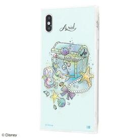 イングレム Ingrem iPhone XS Max /『ディズニーキャラクター OTONA』/耐衝撃ガラスケース KAKU SILK/『アリエル/OTONA Princess』 IQ-DP19K2C/AR001