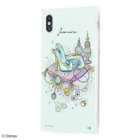 イングレム Ingrem iPhone XS Max /『ディズニーキャラクター OTONA』/耐衝撃ガラスケース KAKU SILK/『ジャスミン/OTONA Princess』 IQ-DP19K2C/JA001