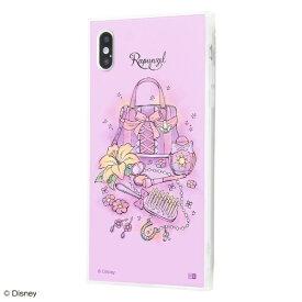 イングレム Ingrem iPhone XS Max /『ディズニーキャラクター OTONA』/耐衝撃ガラスケース KAKU SILK/『ラプンツェル/OTONA Princess』 IQ-DP19K2C/RZ001