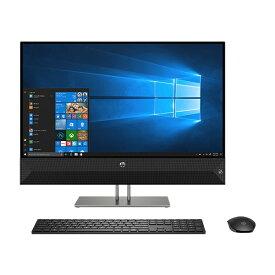 HP ヒューレット・パッカード Pavilion All-in-One 27-xa0170jp デスクトップパソコン[27型 /intel Core i7 /HDD:2TB /SSD:256GB /メモリ:8GB /2019年1月モデル] 4YR07AA-AAAC スパークリングブラック [27型 /HDD:2TB /SSD:256GB /メモリ:8GB /2019年1月モデル][