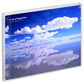 ハクバ HAKUBA Pポケットアルバム NP Lサイズ 横 20枚収納 APNP-LY-STK 空と雲