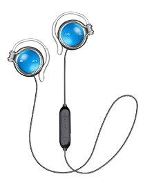 JVC ジェイブイシー ブルートゥースイヤホン 耳かけ型 HA-AL102BT-A ラピスブルー [リモコン・マイク対応 /ワイヤレス(左右コード) /Bluetooth]