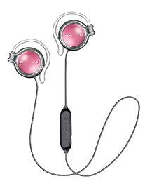 JVC ジェイブイシー ブルートゥースイヤホン 耳かけ型 HA-AL102BT-R ガーネットレッド [リモコン・マイク対応 /ワイヤレス(左右コード) /Bluetooth]