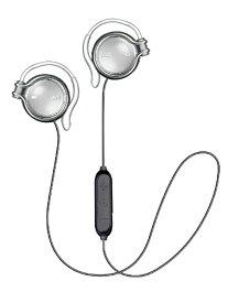 JVC ジェイブイシー ブルートゥースイヤホン 耳かけ型 HA-AL102BT-S ムーンストーンシルバー [リモコン・マイク対応 /ワイヤレス(左右コード) /Bluetooth]