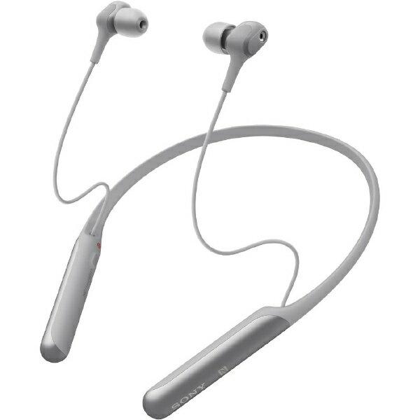 ソニー SONY ブルートゥースイヤホン ノイズキャンセリング WI-C600NHM [マイク対応 /ワイヤレス(ネックバンド) /Bluetooth /ノイズキャンセリング対応][WIC600NHM]
