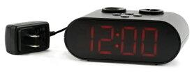 フォルミア Formia 目覚まし時計 【Formia(フォルミア)】 ブラック HT-010RC [デジタル /電波自動受信機能有]