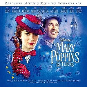 ユニバーサルミュージック (オリジナル・サウンドトラック)/ メリー・ポピンズ リターンズ(オリジナル・サウンドトラック/英語歌唱盤)【CD】