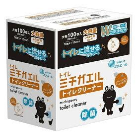 大王製紙 Daio Paper エリエール ミチガエル トイレクリーナー つめかえ用100枚【rb_pcp】
