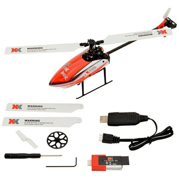 ハイテックジャパン 6CH ブラシレスモーター 3D6Gシステムヘリコプター K120-B(プロポレスパッケージ)