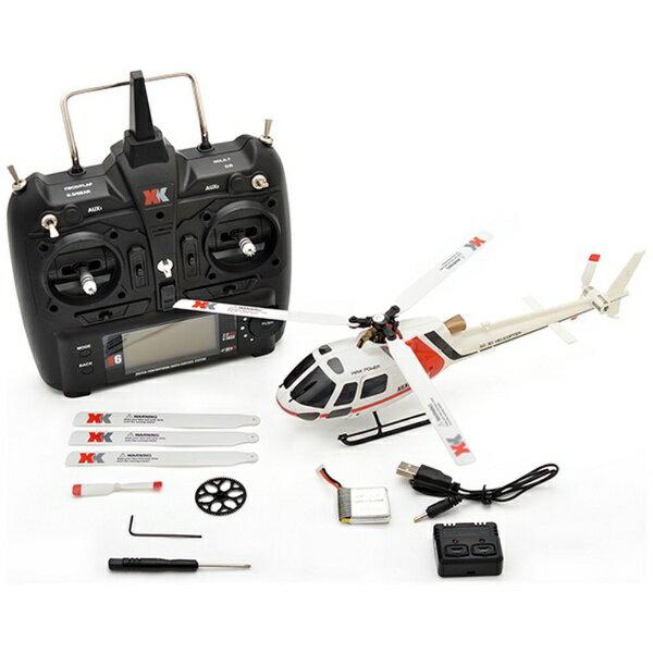 ハイテックジャパン 6CH ブラシレスモーター 3D6Gシステムヘリコプター AS350 K123(RTFキット)