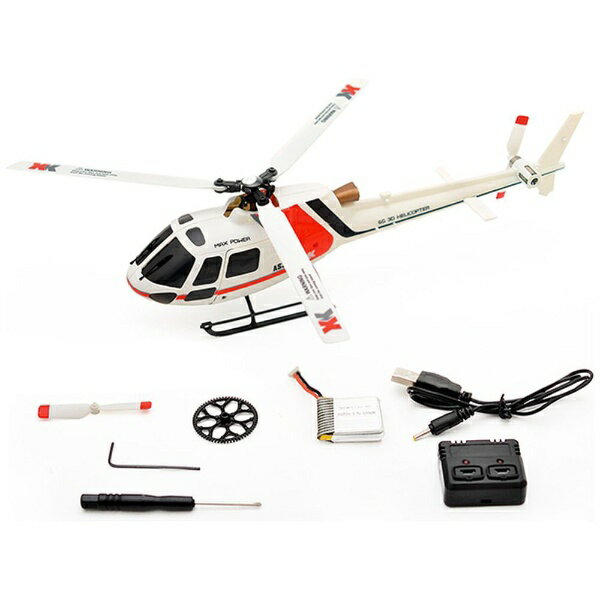 ハイテックジャパン 6CH ブラシレスモーター 3D6Gシステムヘリコプター AS350 K123-B(プロポレスパッケージ)