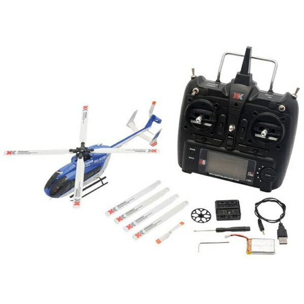 ハイテックジャパン 6CH ブラシレスモーター3D6Gシステムヘリコプター K124 RTFキット