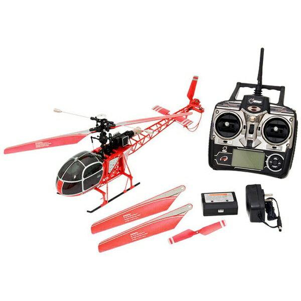 ハイテックジャパン 2.4GHz 4ch ヘリコプター V915 WLV915 レッド