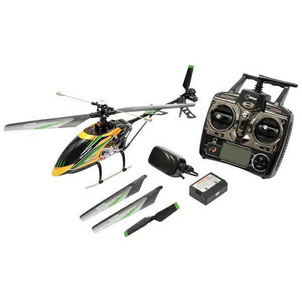 ハイテックジャパン 2.4GHz 4ch ブラシレスヘリコプター V912 ブラシレス WLV912-BLS イエロー/グリーン