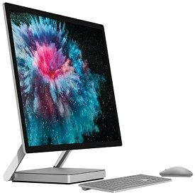 マイクロソフト Microsoft SurfaceStudio2 [28型 /SSD 1TB /メモリ 16GB /Intel Core i7 /プラチナ/2019年] LAH-00023 デスクトップパソコン サーフェススタジオ2[28インチ office付き 新品 windows10 一体型]
