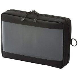 リヒトラブ LIHIT LAB. クリヤーボックスポーチ A5サイズ SMART FIT F-7583-24 ブラック