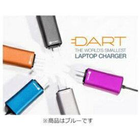 FINSiX フィンシックス ノートパソコン用 ACアダプター 65W「DART」 +タブレット・スマホ対応[AC - USB Type-A充電器:1ポート] DA65US-BL1 ブルー