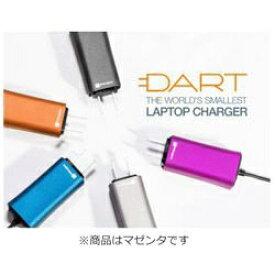 FINSiX フィンシックス ノートパソコン用 ACアダプター 65W「DART」 +タブレット・スマホ対応[AC - USB Type-A充電器:1ポート] DA65US-MA1 マゼンタ