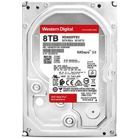 WESTERN DIGITAL ウェスタン デジタル WD8003FFBX 内蔵HDD [3.5インチ /8TB]【バルク品】 [WD8003FFBX]