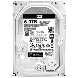 WESTERN DIGITAL ウェスタン デジタル WD6003FZBX 内蔵HDD [3.5インチ /6TB]【バルク品】 [WD6003FZBX]