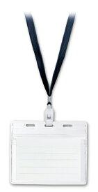 ソニック sonic IDカード用 吊下げ名札 黒 NF-451-D